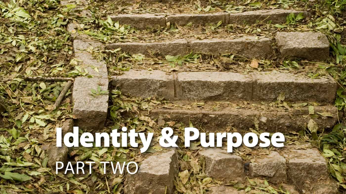 Session 4: Identity & Purpose Part Two