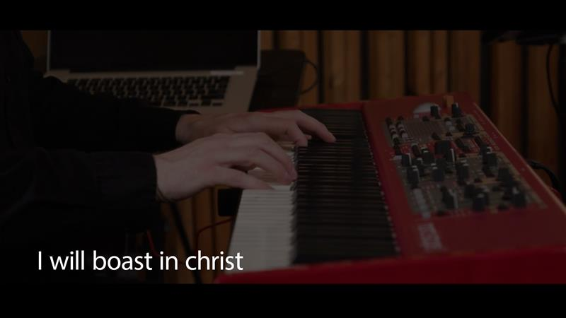I Wil Boast In Christ (live Acoustic)