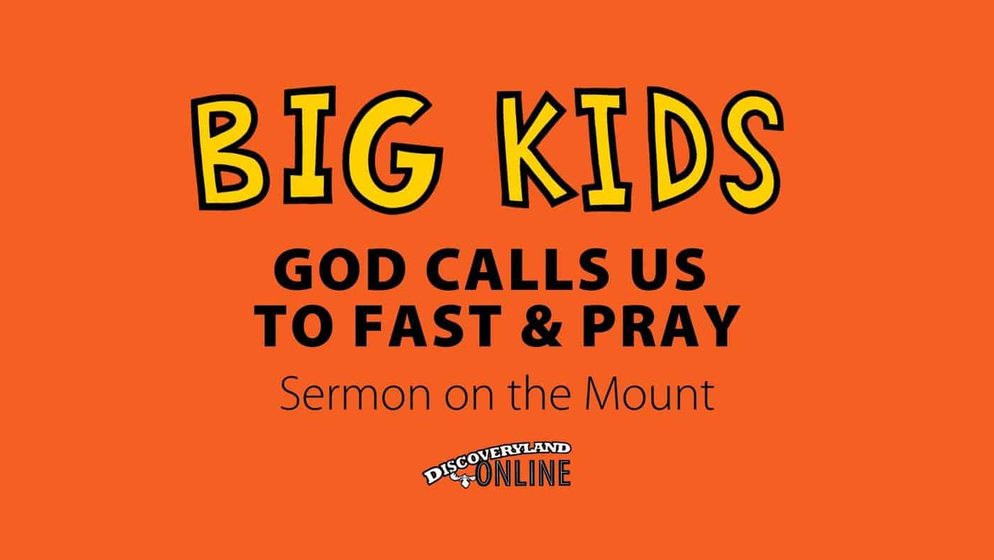 God Calls Us To Fast And Pray