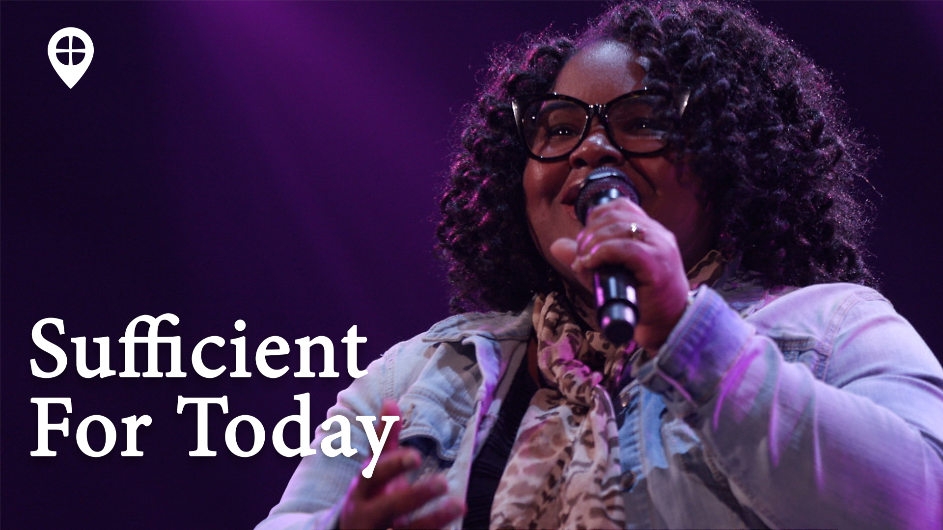 Sufficent For Today (live Worship)