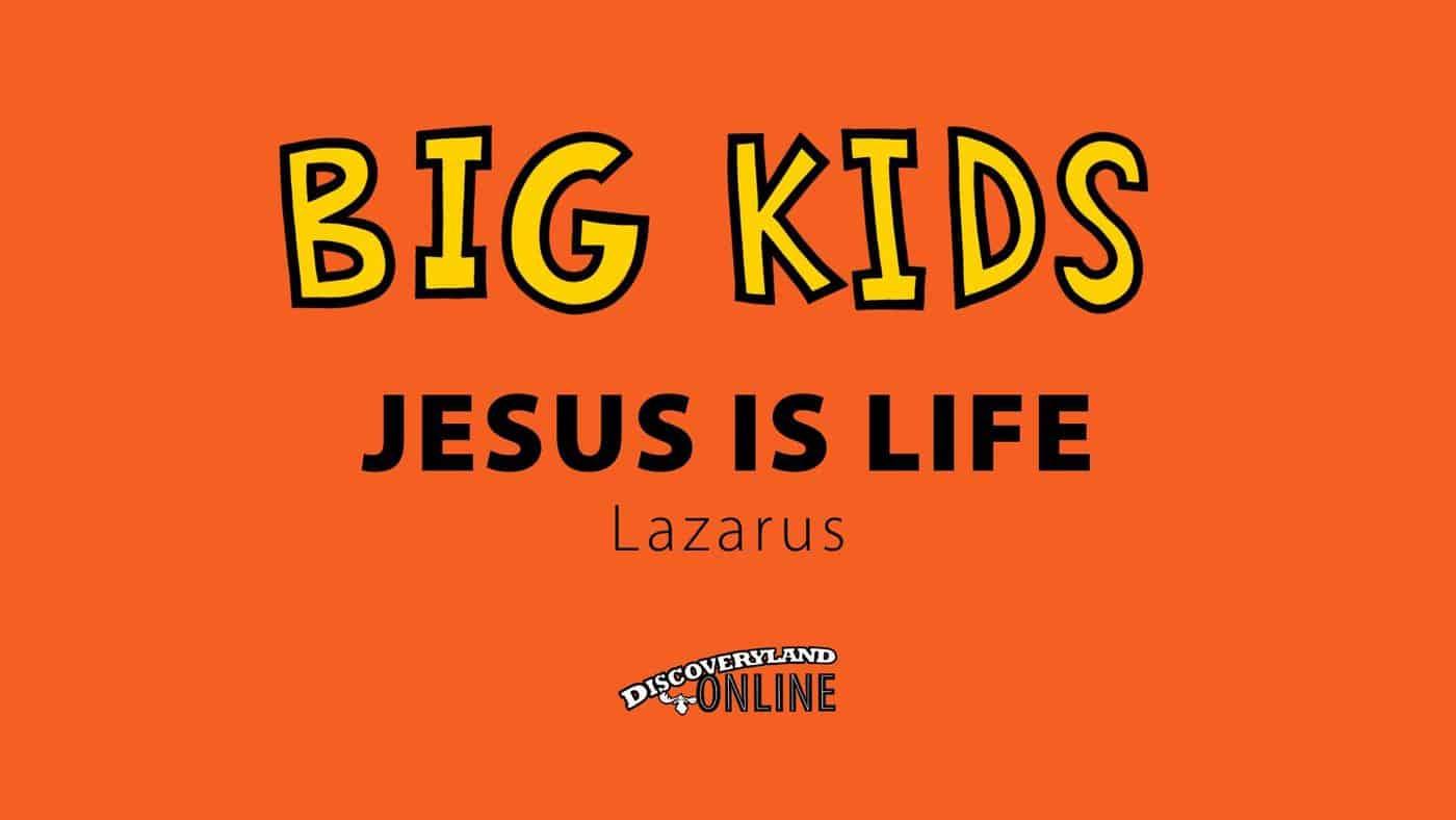 Jesus Is Life (lazarus)