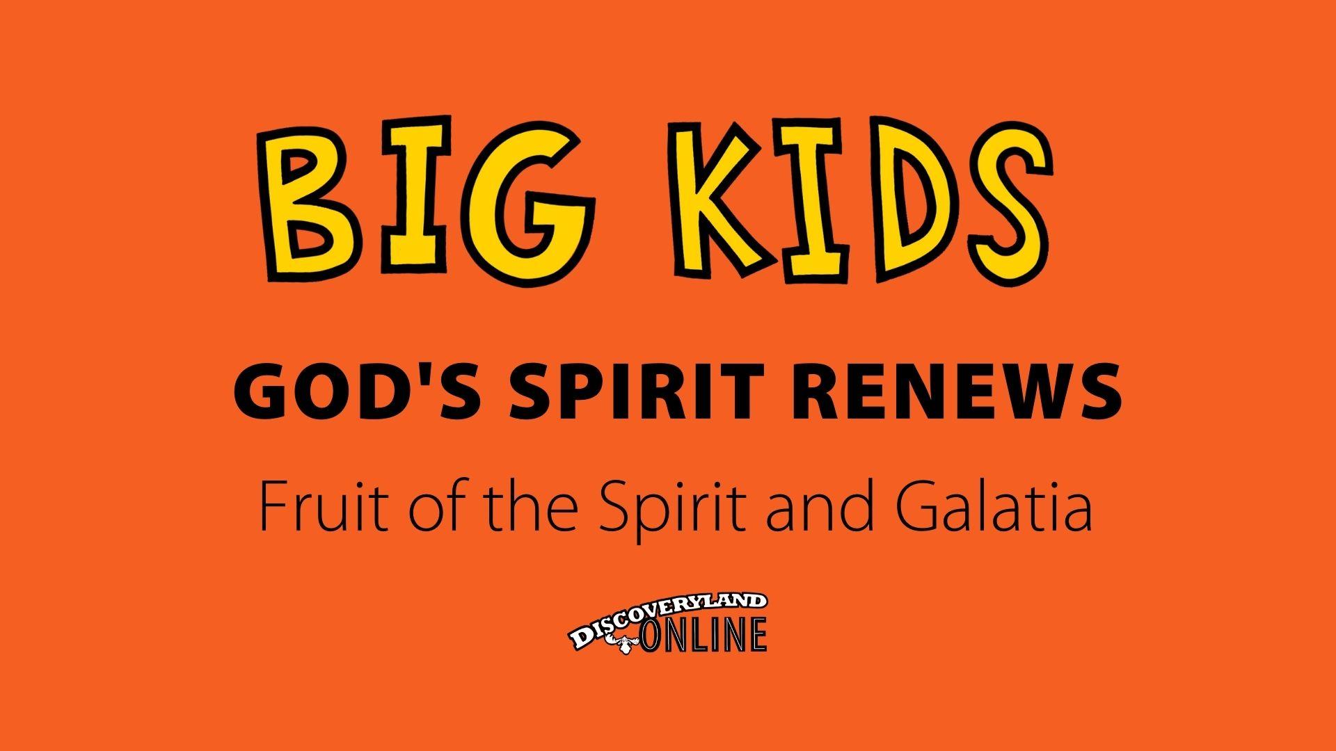 God's Spirit Renews