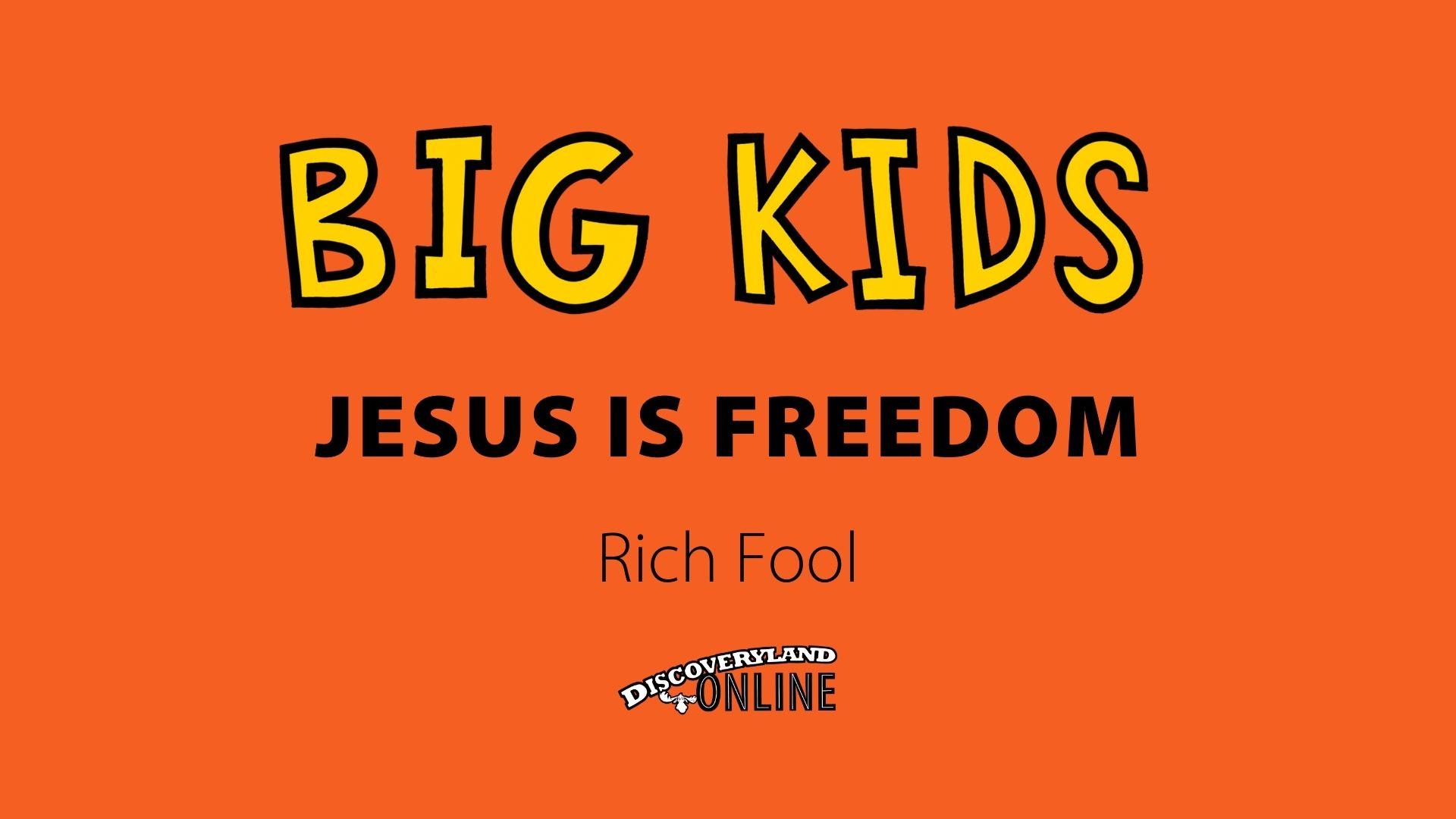 Jesus Is Freedom