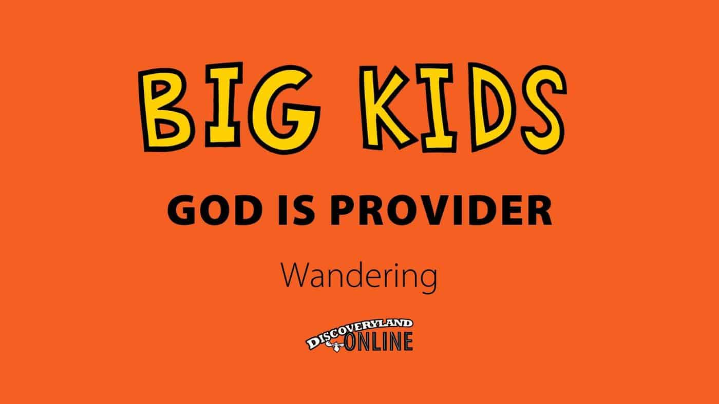 God Is Provider