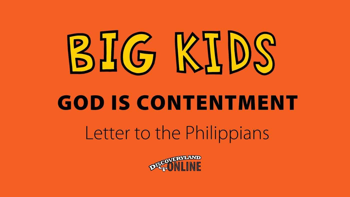 God Is Contentment