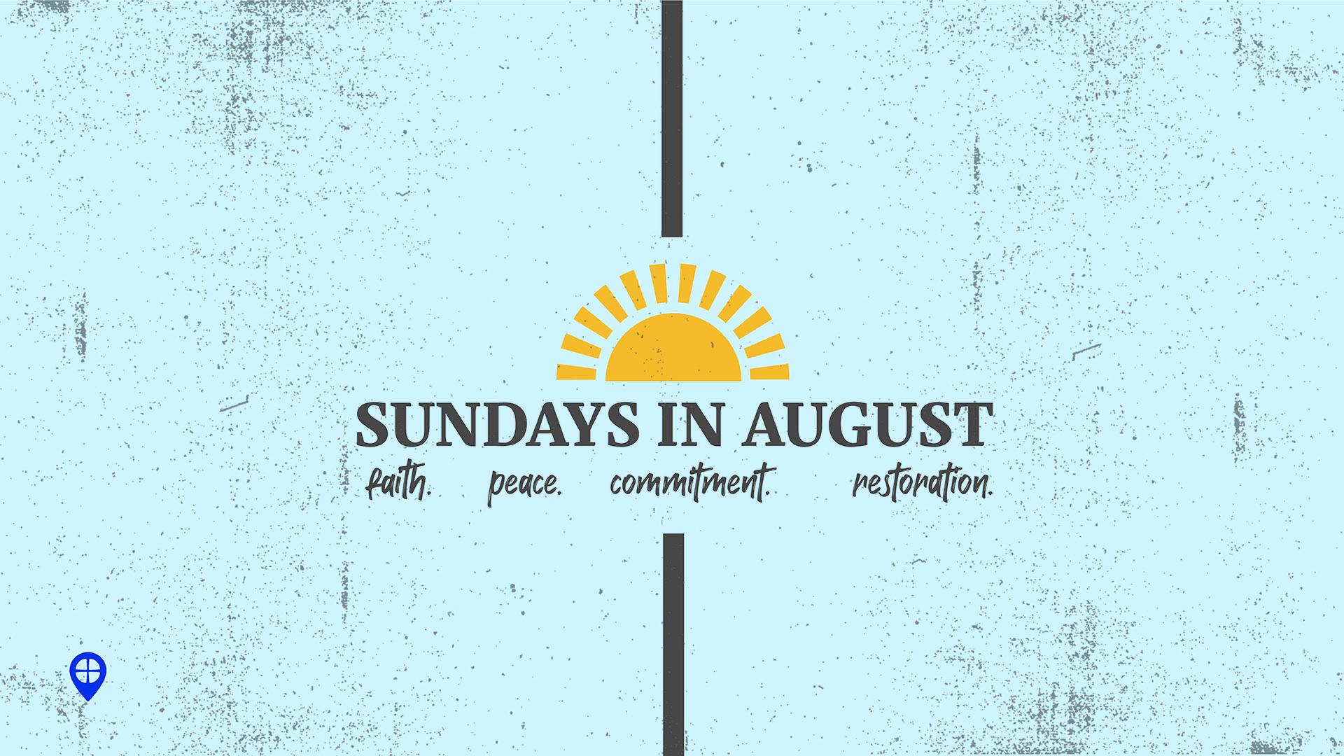 Sundays in August